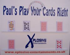 Xplosive Entertainments Play Your Cards Right